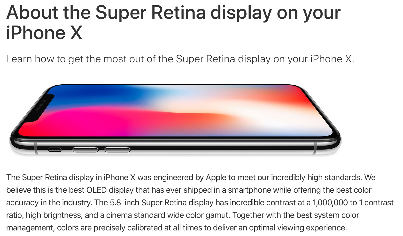 iphone x auslieferung